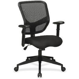 Lorell Executive Mesh MiD-Back Chair - Office Chairs