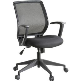 Lorell Executive MiD-Back Work Chair - Office Chairs