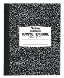 "48 Units of TOPS Oxford Composition Notebook, Green, 10"" x 7 7/8"", 80 sheets, College Ruled - Notebooks"