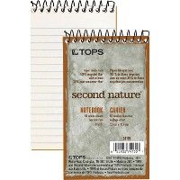 TOPS Second Nature Narrow Ruled Notebooks - Notebooks