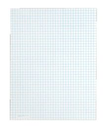 """72 Units of TOPS Quadrille Pad, Gum-Top, 8-1/2"""" x 11"""", Quad Rule (4 x 4), White Paper, 50 SH/PD - Note Books & Writing Pads"""