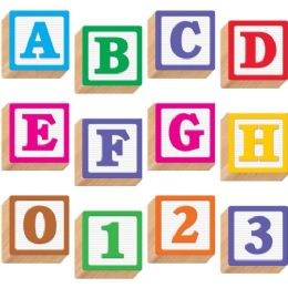 "84 Units of Trend 3-D Block Style 4"" Ready Letters - Classroom Learning Aids"