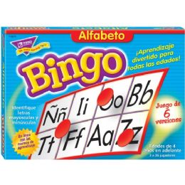 72 Units of Trend Alfabeto (SP) Bingo Game - Classroom Learning Aids