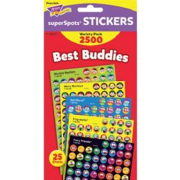 Trend Best Buddies SuperSpots Stickers - Classroom Learning Aids