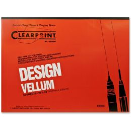 7 Units of Clearprint Design Vellum Pad - Sign
