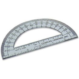 "Cli 6"" Open Center Protractor - Pens & Pencils"