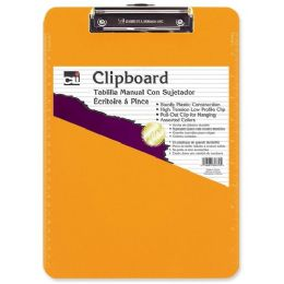 324 Units of CLI Rubber Grip Clipboard - Office Clipboards