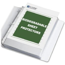 40 Units of C-line Biodegradable Sheet Protector - Sheet protector