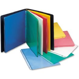C-line Colored Polypropylene Sheet Protector, assorted colors, 11 x 8 1/2, 50/BX - Sheet protector