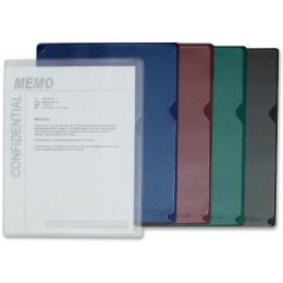 C-line Deluxe Colored Back Vinyl Folders - Folders & Portfolios