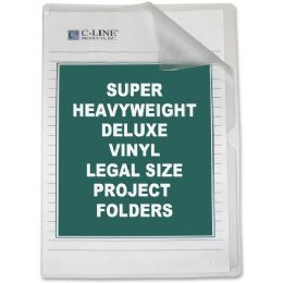 C-line Deluxe Non-Glare Vinyl Project Folder - Folders & Portfolios