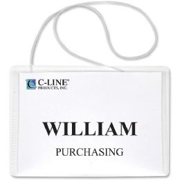 C-line Hanging Style Name Badge Holder - Badge holder