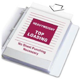 C-Line Heavyweight Polypropylene Sheet Protector, Clear, 11 X 8 1/2, 100/bx - Sheet protector