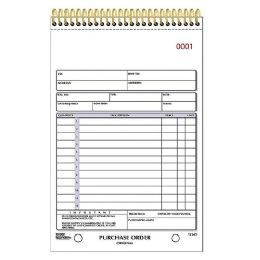 Rediform Gold Standard Purchase Order Book - Order book
