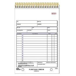 Rediform Gold Standard Purchase Order Book - Order book