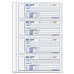 40 Units of Rediform Rent Receipt Book - Receipt book
