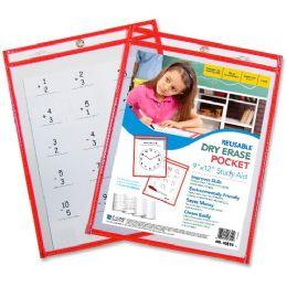C-Line Dry Erase Pocket - Dry erase