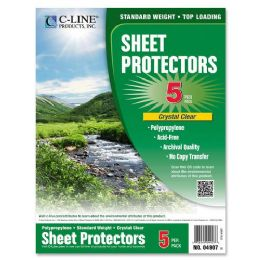 480 Units of C-line Specialty Top-loading Sheet Protectors - Sheet protector