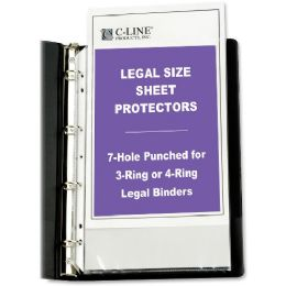 C-line Top Loading Legal Sized Sheet Protector - Sheet protector