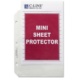 C-line Top Loading Mini Size Sheet Protector - Sheet protector