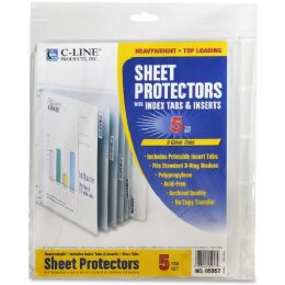 C-line Top Loading Sheet Protector - Sheet protector