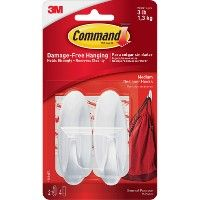 Command Medium Designer Adhesive Hooks - Sign
