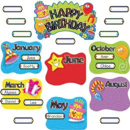 Trend Birthday Festival Mini Bulletin Board Set - Bulletin Boards & Push Pins