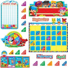 48 Units of Trend BlockStars Calendar Bulletin Board Set - Calendar