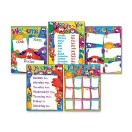 Trend Classroom Basics Furry Friends Learning Chart - Classroom Learning Aids