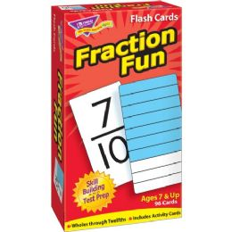 Trend Fraction Fun Flash Card - Classroom Learning Aids