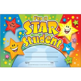 Trend I'm a Star Student Recognition Award - Classroom Learning Aids
