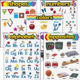 Trend Kindergarten Basic Skills Learning Chart - Classroom Learning Aids