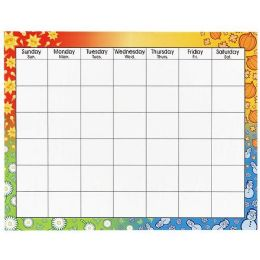 156 Units of Trend Large Wipe-Off Blank Calendar Chart - Calendar