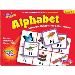 Trend Match Me Alphabet Game - Classroom Learning Aids