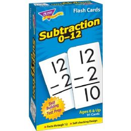Trend Math Flash Cards - Classroom Learning Aids