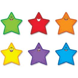Trend Mini Stars Accents Variety Pack - Classroom Learning Aids