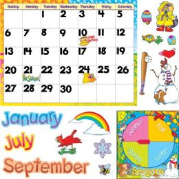 48 Units of Trend Monthly Calendar Bulletin Board Set - Calendar