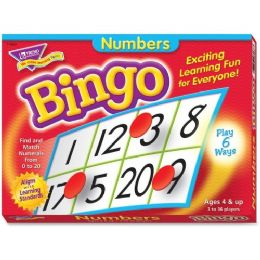 Trend Numbers Learner's Bingo Game - Classroom Learning Aids