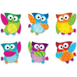 144 Units of Trend Owl-Stars Buddies Mini Accents Variety Pack - Classroom Learning Aids