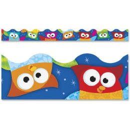 204 Units of Trend Owl-Stars Collection Terrific Trimmers - Classroom Learning Aids