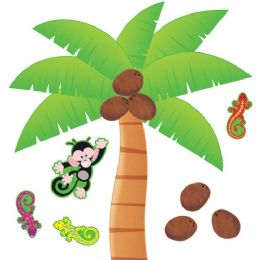 48 Units of Trend Palm Tree Bulletin Board Set - Bulletin Boards & Push Pins