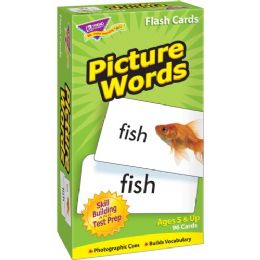 Trend Picture Words Flash Cards - Classroom Learning Aids