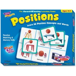 Trend Positions Match Me Games - Classroom Learning Aids