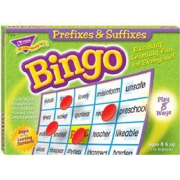 Trend Prefixes & Suffixes Bingo Game - Classroom Learning Aids