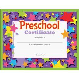Trend Preschool Certificate - Classroom Learning Aids