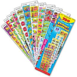 48 Units of Trend Primary Favorites Stickers - Classroom Learning Aids