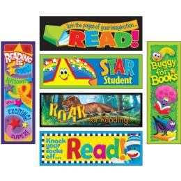 Trend Reading Adventure Bookmark Combo Packs - Classroom Learning Aids