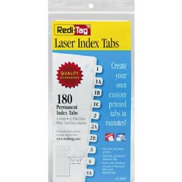 Redi-Tag Laser Index Tabs - Tags