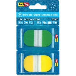 120 Units of Redi-Tag Pop-up Assorted Color Index Tabs - Tags