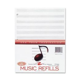 24 Units of Roaring Spring Music Filler Paper - Paper